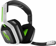 Astro A20 Wireless Over the Ear Gaming Headset - White/Green Xbox,PS4/5,PC,MAC