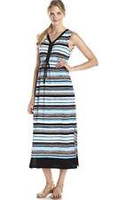 Jones New York Sleeveless colorblock maxi dress XL