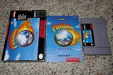Pinball Dreams (Super Nintendo Entertainment System SNES, 1994) Complete GREAT H