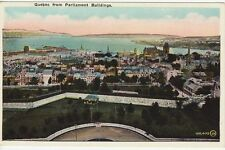 Antique POSTCARD QUEBEC from Parliament Building CANADA