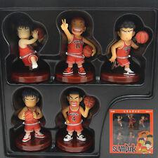 5x Slam Dunk Basketball Players 8cm PVC Figure Set Brand New In Box Q Edition