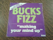 45 tours bucks fizz making your mind up