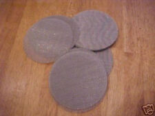 25 STAINLESS STEEL SCREEN FILTER DISKS BLANKS # 2