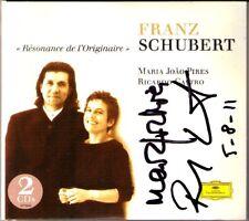 Maria Joao PIRES & Ricardo Castro signed Schubert Piano Duo 2cd imagination Sonata