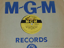 "ACQUAVIVA & HIS ORCHESTRA My Love/ Curtain Time PROMO 10"" 78 MGM 30668"
