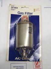 NOS GM AC GF483 Fuel FIlter 83 Firebird 85 Cadillac 87 88 89 90 91 GMC Chevy S10