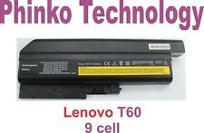BRAND New Battery for Lenovo IBM THINKPAD R60I R61 R61e R61i T61 T60 9 cell