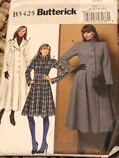 Butterick B5425 Jacket Coat Pattern 6-12