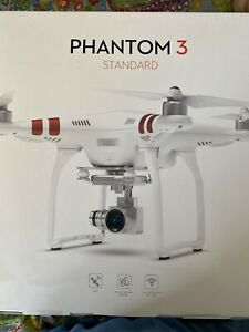 DJI Phantom 3 Standard Quadcopter Drone 2.7 HD Video Camera NEW Never opened
