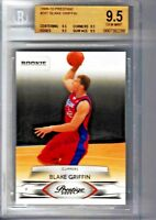 2009-10 Prestige #201 BLAKE GRIFFIN RC BGS 9.5 (9.5 9.5 9.5 9.5) Detroit Pistons