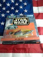 Hasbro Star Wars Micro Machines Vll W/Sail Barge, Speeder Bike Action Figure
