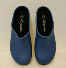 Sloggers Garden Outside Waterproof Women's Size 7 Clog with inserts blue