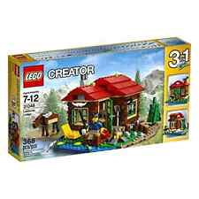 Construction Toy 368 Pieces DIY LEGO Creator Lakeside Lodge with Furniture 31048