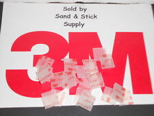 "3M CLEAR DUAL LOCK VHB  TYPE 250  3/4""X3/4"" SQUARES SJ3560 RECLOSABLE 20PCS"