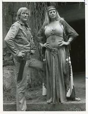 ANITA EKBERG BO SVENSON GOLD OF THE AMAZON WOMEN ORIGINAL 1977 NBC TV PHOTO