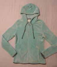 No Boundaries Size M(7-9) Jr. Soft Fleece Zipper Front Hood Jacket Mint Green