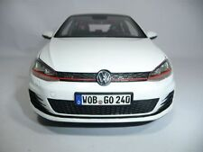 VW GOLF VII GTI ORYXWHITE 1:18 NOREV DEALER VERY RARE