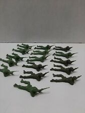 Vintage plastic toy soldiers from the late 1970's