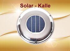 Edelstahl Solar Belüfter Ventilator für Boot Wohnmobil Gartenhaus