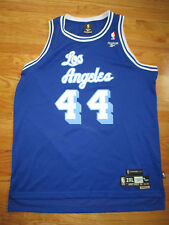 1961-62 Hardwood Classics JERRY WEST No. 44 LOS ANGELES LAKERS (2XL) Jersey
