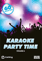 PARTY TIME VOL 6 SUNFLY KARAOKE DVD - 60 HIT SONGS