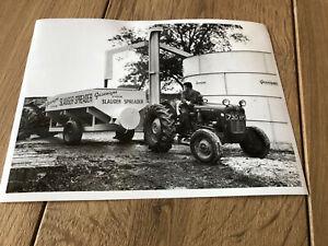 Massey Ferguson MF 35 Traktor Werksfoto + RARITÄT - von 1960