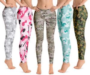 Premium Women's Leggings - Multicam Camo Leggings Collection - Best Gift for Her