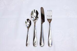 Alessi Nuovo Milano - 4 Piece Table Cutlery Set (Teaspoon) (Read Advert) NO BOX