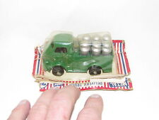 VINTAGE BARCLAY LOADED METAL DELIVERY TRUCK, MINT ON CARD