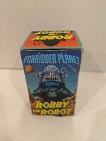"1997 Forbidden Planet ROBBY THE ROBOT Wind Up Toy, Japan, 4.5"" Plastic"