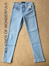 James Jeans Twiggy The Cropped Leggings Beach Bunny £200 BNWT