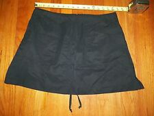 Tail Tech Black Back Zip up Golf Skirt Size 14