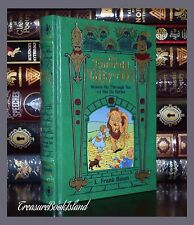 Emerald City of Oz by L. Frank Baum Sealed Bound Leather Collectible Books 6-10