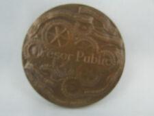 ancienne medaille bronze 1978 service du tresor signee buxin