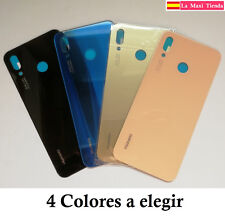 "Tapa Trasera Bateria para ""Huawei P20 Lite"" Cubierta Blanca Negra Dorada Rosa"