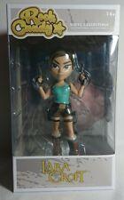 Funko Rock Candy Lara Croft Tomb Raider Coleccionable Rara Colección De Vinilo