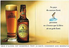 Publicité Advertising 1993 (2 pages) La Bière George Killian's