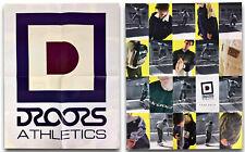 "Vintage 90s Droors Athletics Poster Caine Gayle Skate Skateboard Surf 21""x16.75"""