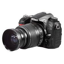 52mm 0.45x HD Wide Angle Macro Lens for Canon Nikon Sony  DSLR Camera UK