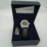 reloj skyline automatico watch williston collection 3869 automatic estuche