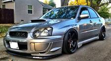 """18"""" MiRO 398 Wheels SET For Subaru WRX EVO 18X9.5 Squared Black Rims Set (4)"""