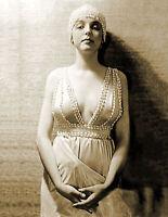 "1920-1925 Actress Betty Linn Vintage Old Photo 8.5"" x 11"" Reprint"