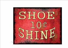 Stile vintage Shoe Shine segno Barbiere Stile Retrò Segno segno da cucina