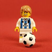 Genuine Lego Series 4 Soccer Player Minifigure with Ball