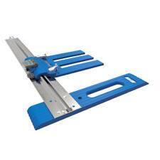 "Circular Saw Guide System Accurate Rip-Cut Track Rail 24"" Wide Edge Cutting New"