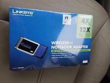 Cisco Linksys WPC300N Wireless Adapter Laptop PCMCIA Network Wireless-N G SEALED