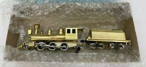 HO Porter Mogul 2-6-0 Brass Steam Locomotive & Tender Ken Kidder Made in Japan