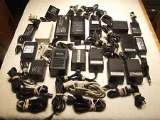Lot of 17 large power adapter power supplys Ac Dc, Many Brands,