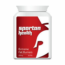 SPARTAN HEALTH FAT BURNERS PILL TABLETS GET RIPPED EXTREME STRENGTH INSTANT
