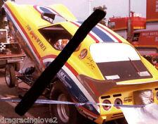 "Tom ""Mongoose"" McEwen 1977 ""English Leather"" Corvette NITRO Funny Car PHOTO!"